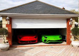 Image of White Domestic Roller Garage Door