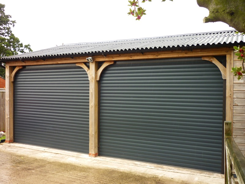 Anthracite Garage Door Classic
