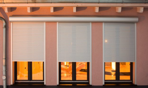 M411 domestic security shutters
