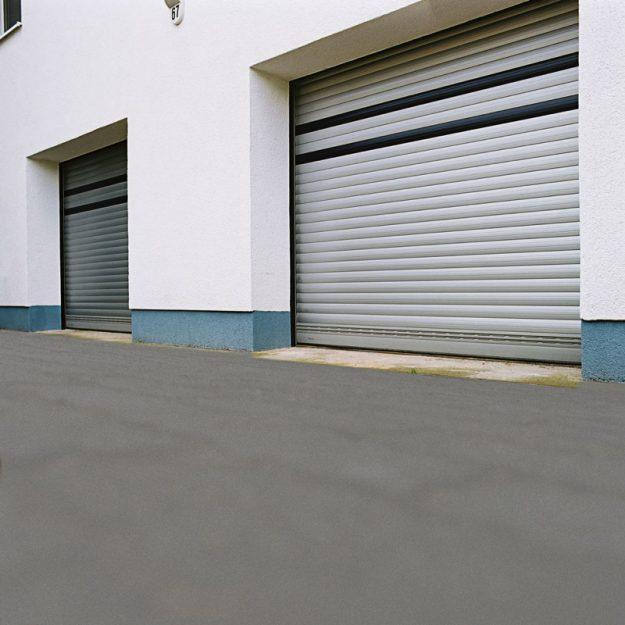 M411 Aluminium Insulated Shutter on Warehouse
