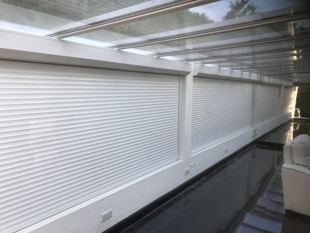 Image of Multiple M411 Security Shutters