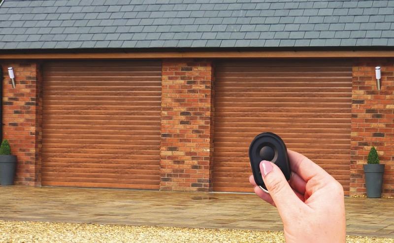 Compact Garage Door Roller Garage Door Roche Security