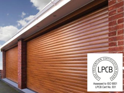 Elite Roller Garage Door LPCB Insurance Approved