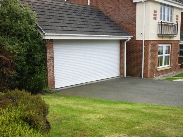 White Roller Garage Door Classic