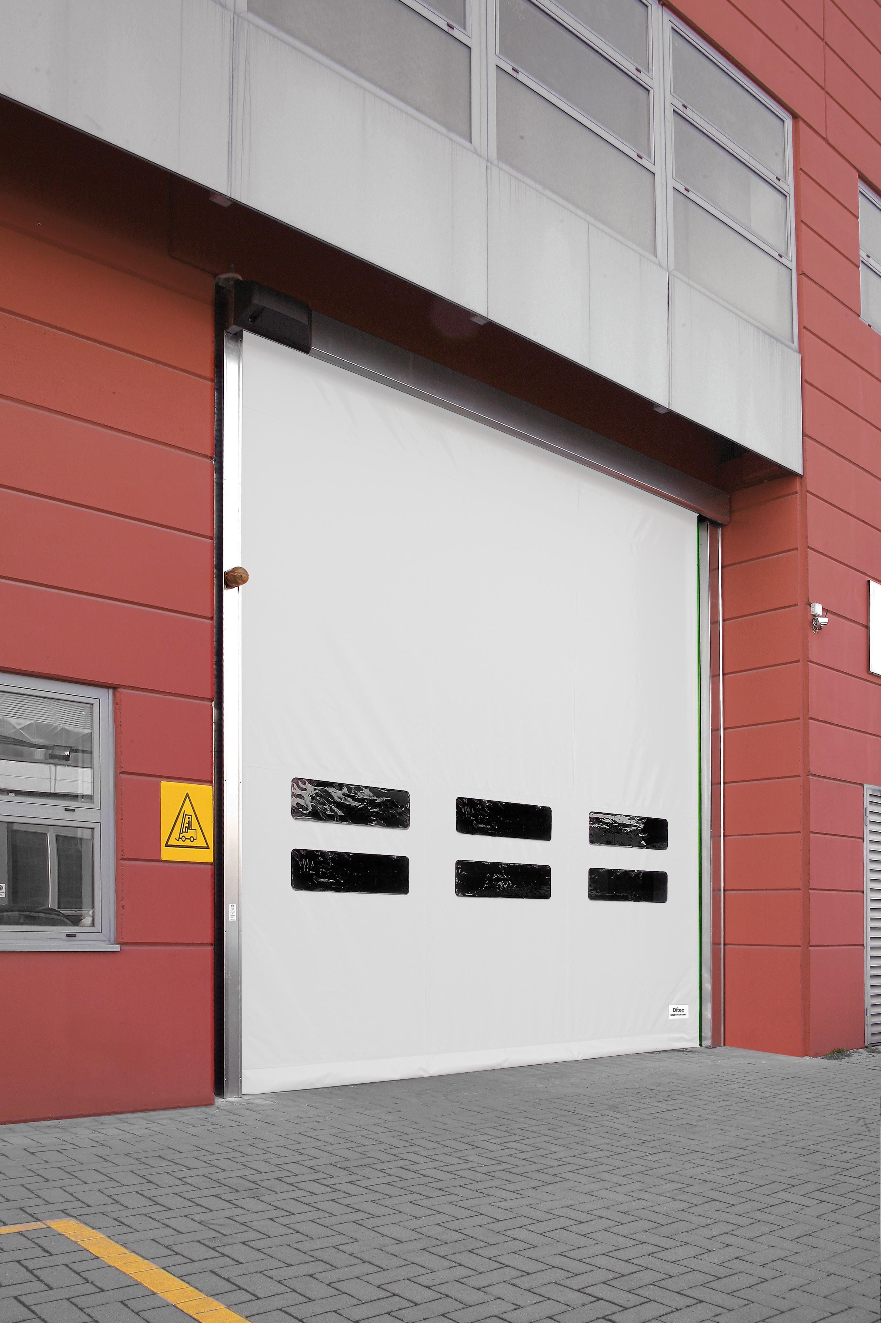 Self Repairing High Speed Door Rapid Repair Industrial