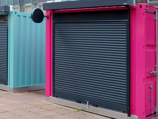 T55 Roller Shutter Wolverhampton Market