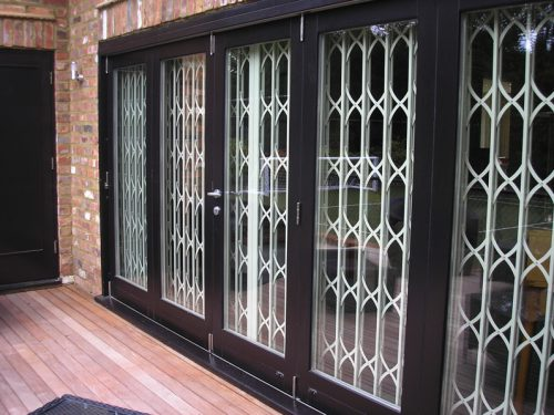 Diamond Grille Wistdale Patio Doors