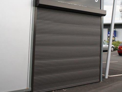 E37 Black Aluminium Shutter