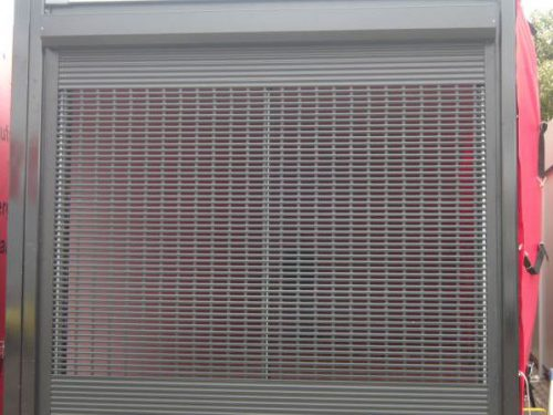 Transparent V37 Security Shutter