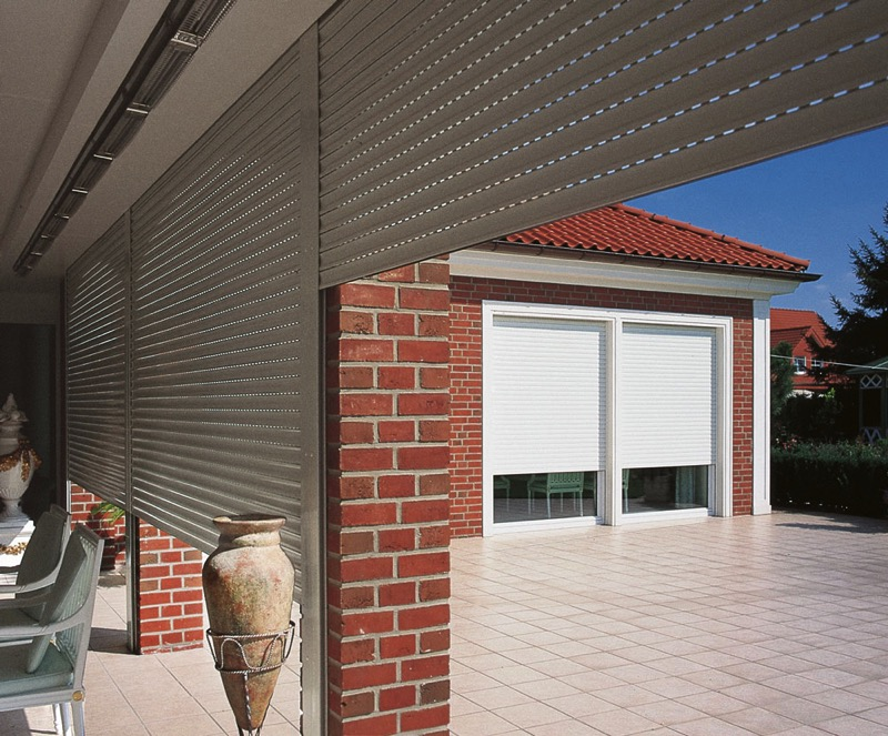 M411 Security Shutters Internal and External View