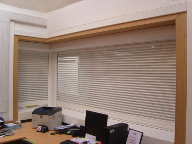 Office with P37 Security Shutter