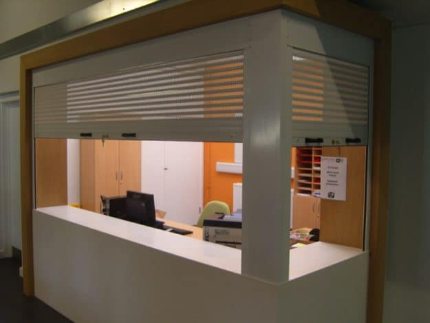 P37 Aluminium Roller Shutter with Perforated Profile