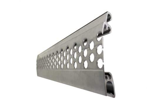 P37 Perforated Slat Profile Close-Up