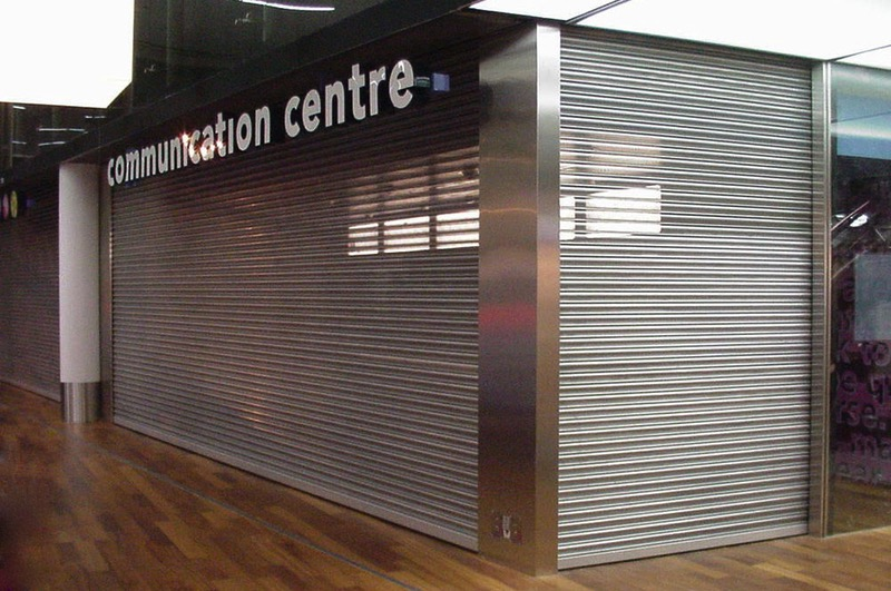 P37 Commercial Perforated Shutter
