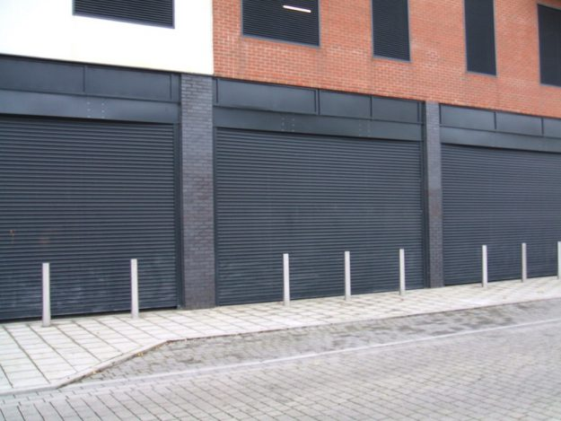 P76 Commercial Security Shutter