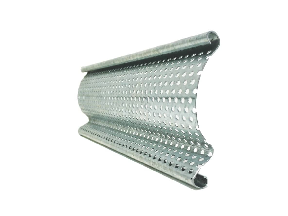 P76 Perforated Steel Roller Shutter Slat Profile