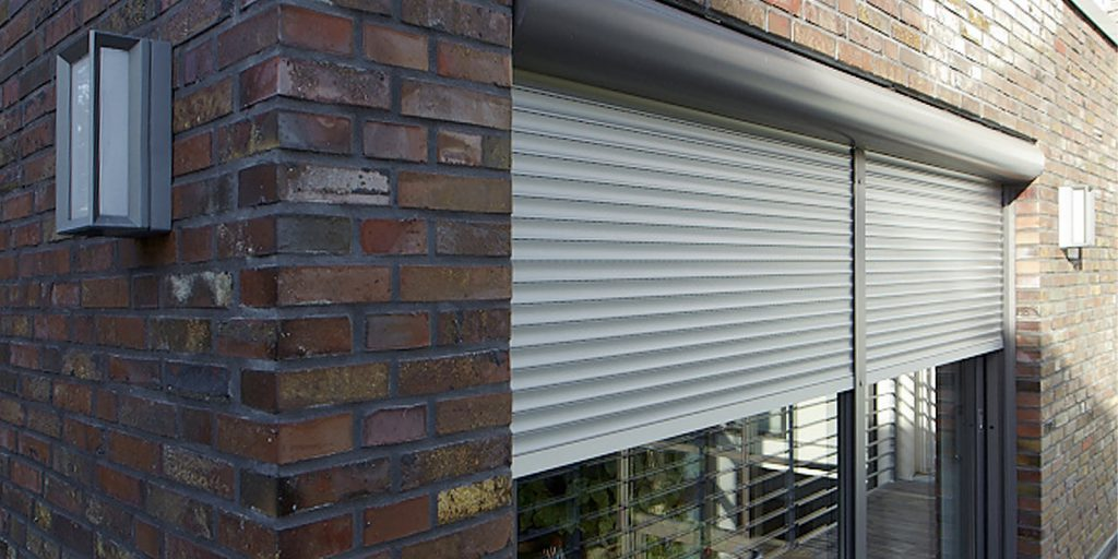 Residential Security Shutter Circular Housing