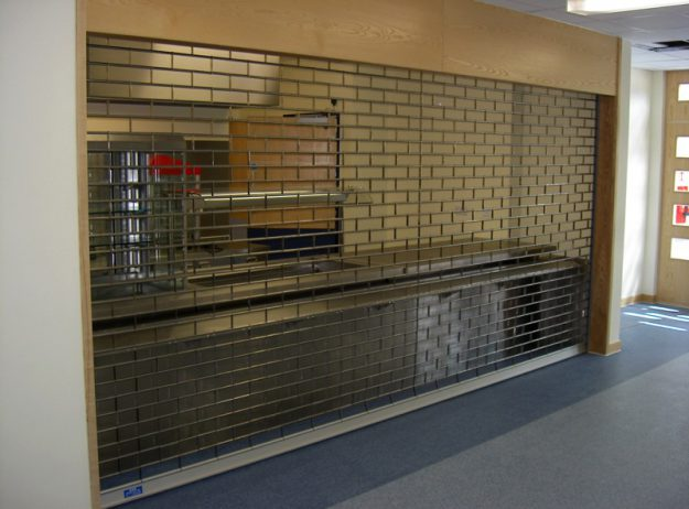 Tube and Link Security Shutter
