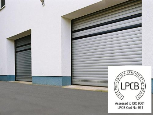 T77 Elite Insurance Approved Commercial Shutter