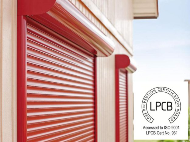 E37 Elite Security Shutter with LPCB Logo