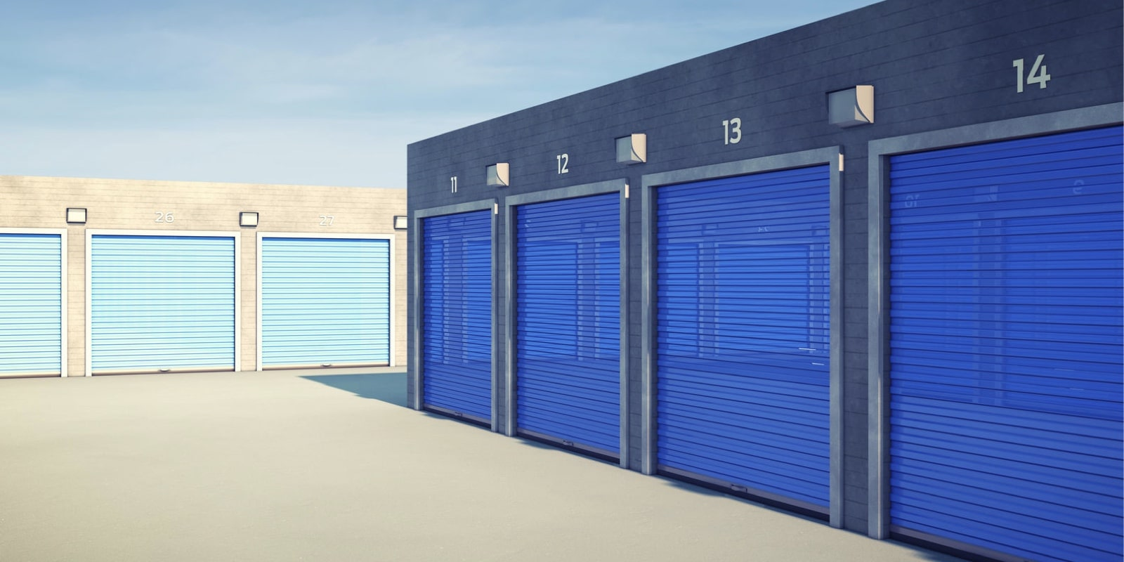 Commercial Security Shutters Storage Units
