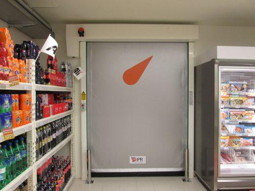 FlexiRun High Speed Door Supermarket