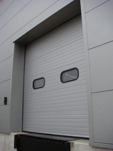 Grey Sectional Door
