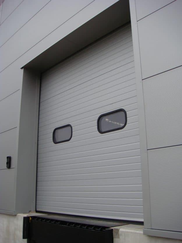 Grey Sectional Door