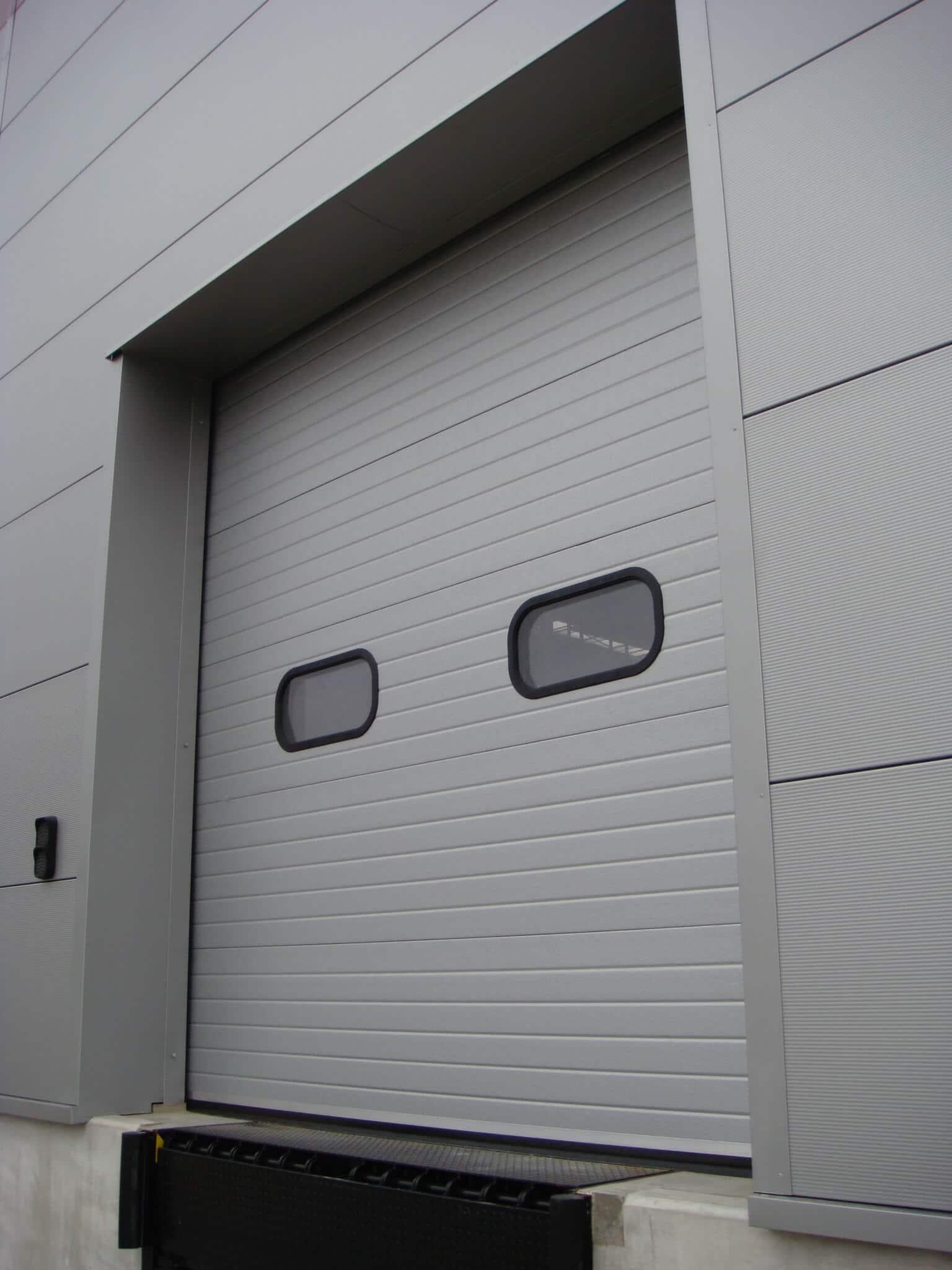 Sectional Overhead Door Insufold Industrial Door Roch 233