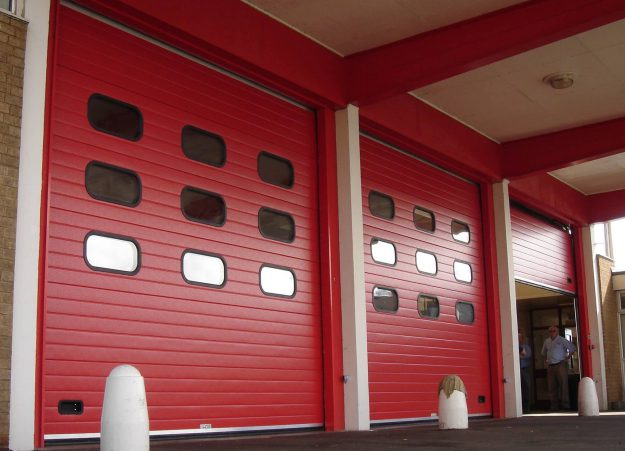 High Speed Door Red (Belt)