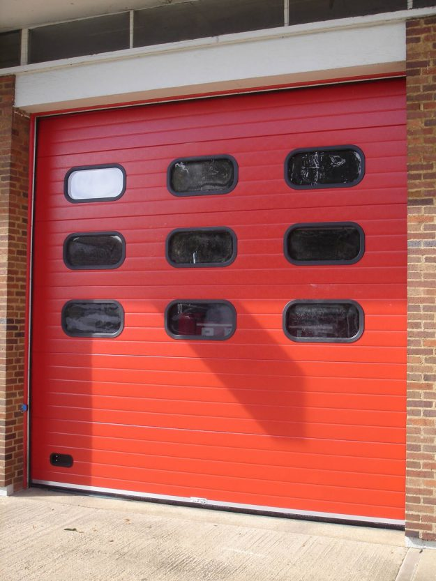 Industrial Doors Red