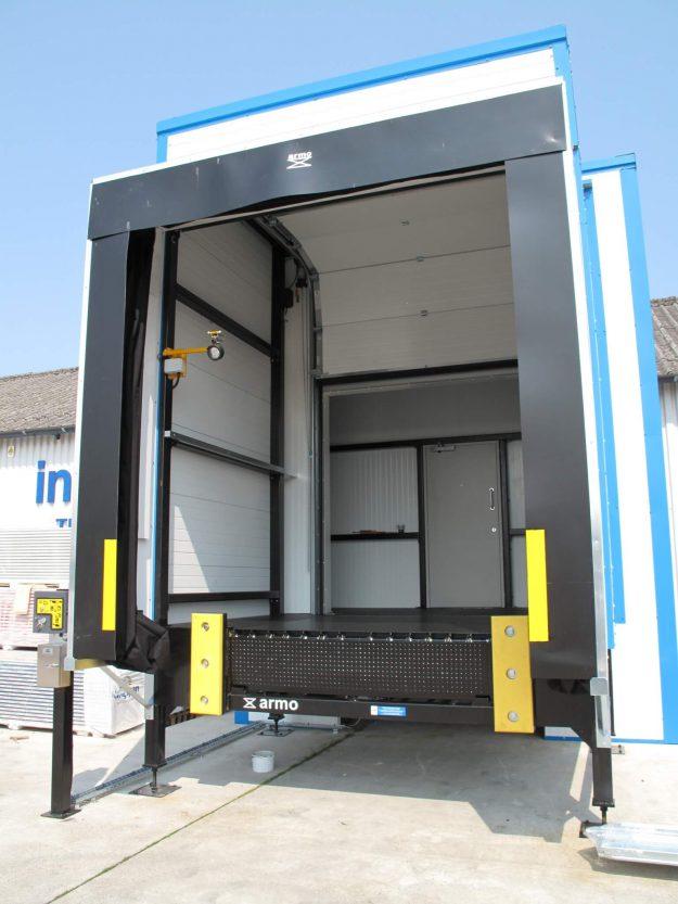 DockLeveller Inside Van