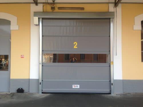 Run High Speed Door with Windows