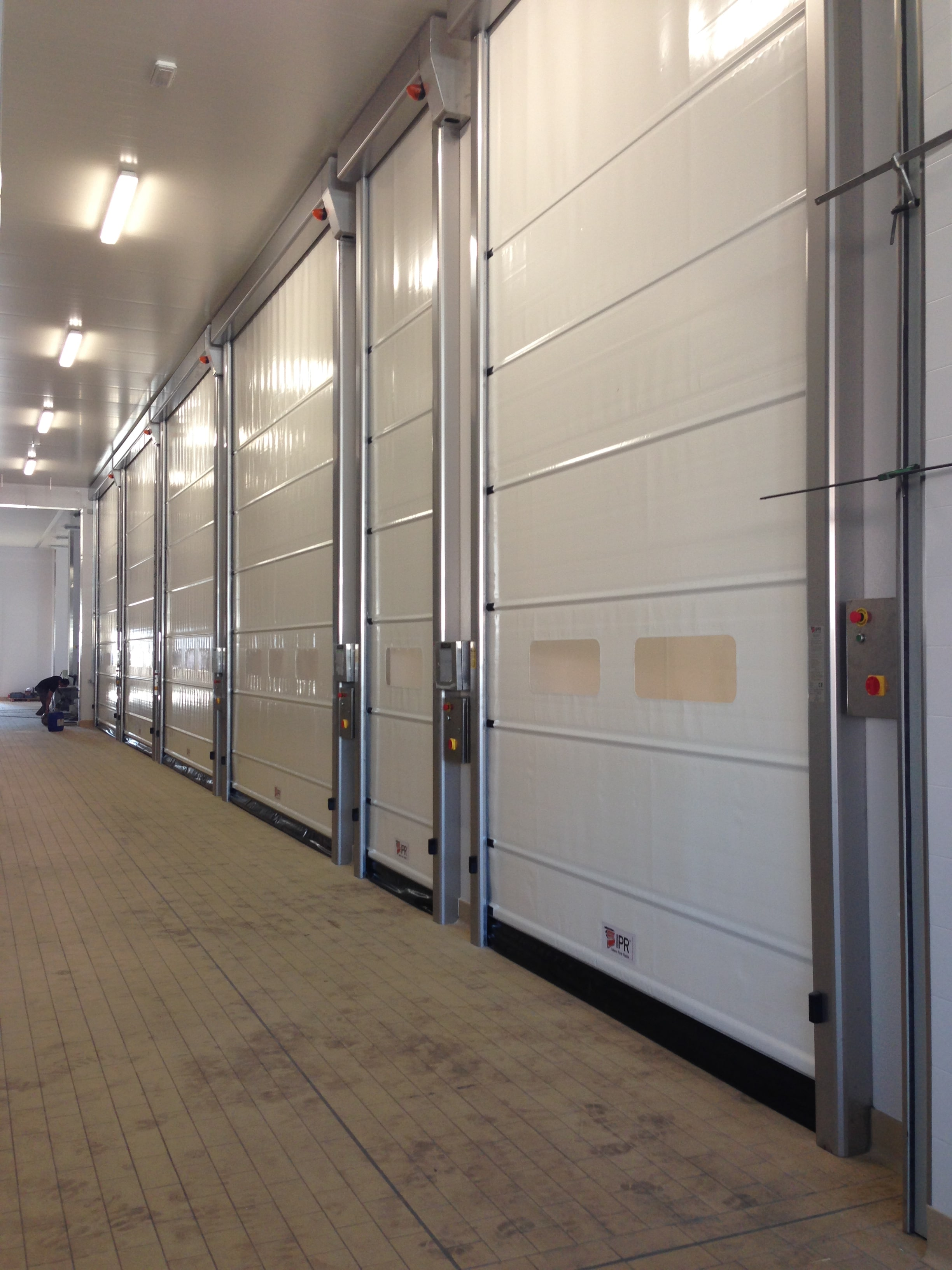 personnel steel with products industrial garage dool sectional shutters door roller doors