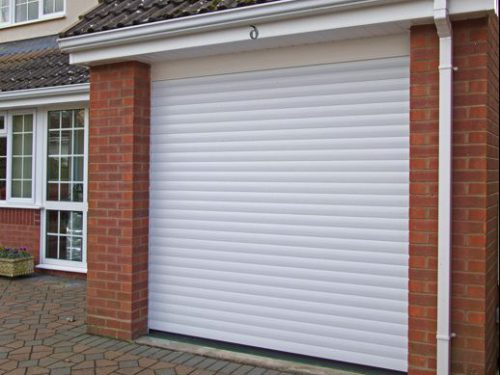 T55 COMPACT ROLLER GARAGE DOOR WHITE