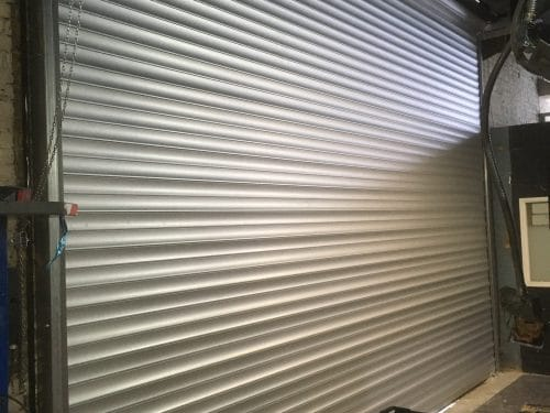 Image of Industrial Galvanised Security Shutter