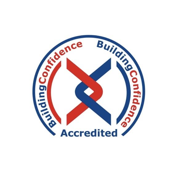 Achilles Building Confidence Accreditation Logo