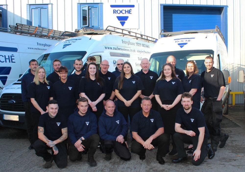 Roche group photo